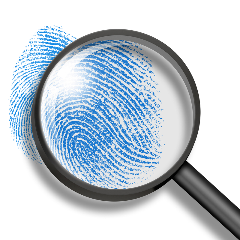 finger print forensic science